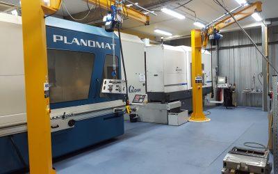 ABUS maakt zwaar werk licht bij Machinefabriek Goossens